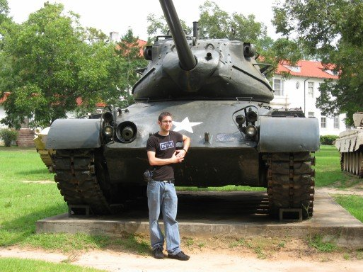 A tank I found while visiting my bro in Georgia.