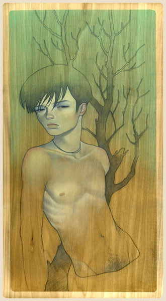 shounen by: Audrey Kawasaki