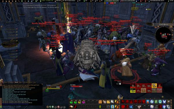 Tayomi dead at the Keep (Old Zerg)